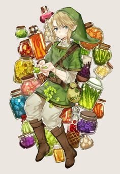 blonde_hair blue_eyes blush food full_body hat kissai link looking_at_viewer pointy_ears short_hair solo the_legend_of_zelda the_legend_of_zelda:_twilight_princess The Legend Of Zelda, Legend Of Zelda Breath, Breath Of The Wild, Robot Dragon, Iconic Characters, Fictional Characters, Zelda Twilight Princess, Link Zelda, Nintendo