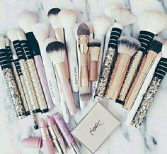 Imagem de makeup, beauty, and Brushes