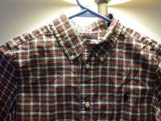 Ralph Lauren Boys Size 7 Plaid On Down Long Sleeve Shirt Nwt Rn 41381 Ralphlauren