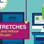 11 Easy Office Stretches to Reduce Back and Neck Pain (Infographic) | Lumo