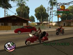 Finally the Goldwing comes to San Andreas
