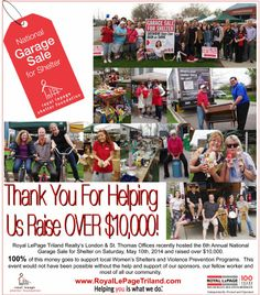 Thank you for helping us raise over $10,000!!!!