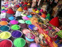 Colours powder