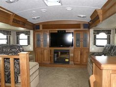 5th wheel with a front living room? — at hershey rv show. | rv's