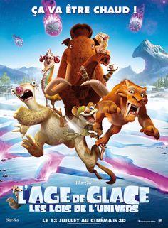 Critique de L'Age de Glace 5 en salles 13 juillet 2016 distribué par 20th Century Fox