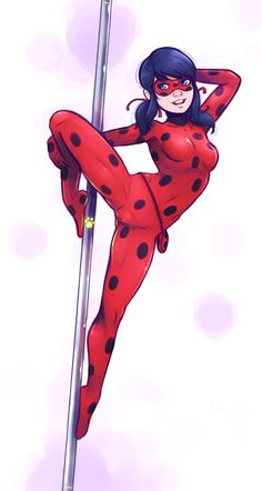 """""""And here's why we all love Ladybug."""" """" Meowrrrrr."""""""