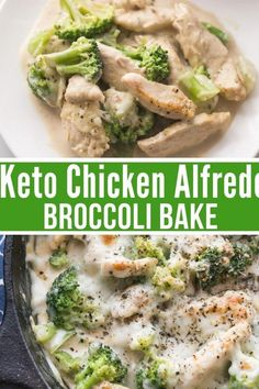Chicken Broccoli Alfredo, Broccoli Bake, Healthy Fats, Healthy Choices, Baby Food Recipes, Healthy Dinner Recipes, Meat Recipes, Keto Chicken, Vegetable Dishes