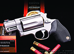My Taurus Judge Public Defender...there is something cool about a gun that shoots .45's bullets and/or 410 shotgun shells....