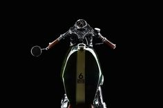 Harley Sportster cafe racer by Mandrill Garage #motorcycles #caferacer #motos | caferacerpasion.com
