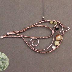 Birds & Feathers – Earth Balance Craft Wire Wrapped Earrings, Wire Earrings, Wire Wrapped Pendant, Wire Jewelry, Wire Bracelets, Copper Bracelet, Wire Tutorials, Jewelry Making Tutorials, Wire Crafts