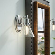 Williston Forge Nicastro Armed Sconce Voltage: 130 V Task Lighting, Wall Sconce Lighting, Wall Sconces, Best Bathroom Vanities, Bathroom Vanity Lighting, Clawfoot Tub Faucet, Metal Vase, How To Apply Makeup