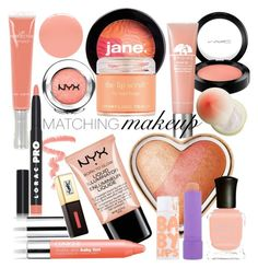"""""""Princess Peach"""" by rachael-aislynn ❤ liked on Polyvore featuring beauty, MAC Cosmetics, jane, Origins, Sara Happ, Tony Moly, Topshop, Too Faced Cosmetics, NYX and Clinique"""