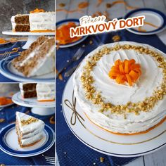 Carrots Cake, Vanilla Cake, Tiramisu, Pie, Ethnic Recipes, Sweet, Desserts, Food, Diets