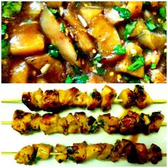 Easy Soy-Honey-Lime Grilled Chicken Skewers