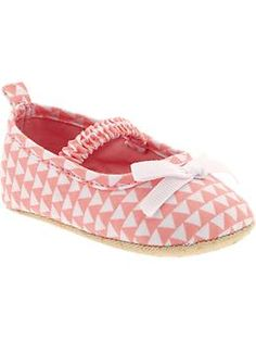 Printed Soft-Sole Mary Janes for Baby | Old Navy