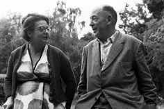 C. S. Lewis with his wife, Joy. Her lingering death from cancer taught him how faith can be a support in times of suffering.   Dundee University
