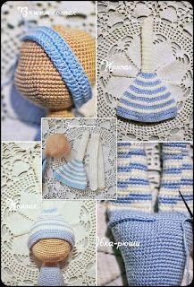 Amigurumi The Sleeping Doll Free Pattern – Amigurumi Crochet Crochet Dolls Free Patterns, Amigurumi Patterns, Doll Patterns, Granny Square Häkelanleitung, Granny Square Crochet Pattern, Link Hat, Crochet Doll Tutorial, Baby Hats Knitting, Crochet Bear