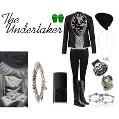 """The Undertaker"" by casualanime on Polyvore"