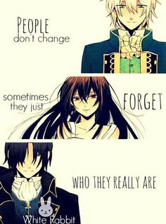 Manga:Pandora hearts (c)owner Sad Anime Quotes, Manga Quotes, True Quotes, Strong Quotes, People Quotes, Pandora Hearts, Me Anime, Anime Love, Manga Anime