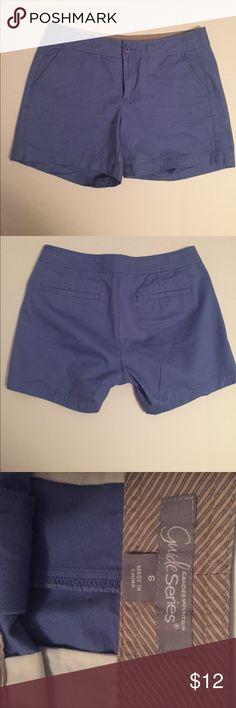 Gander Mountain Shorts Periwinkle blue 100% cotton shorts. Gander Mountain guide series. Gander Mountain Shorts