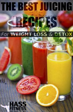 The Best Juicing Recipes for Weight Loss and Detox | HASS BODYBUILDING