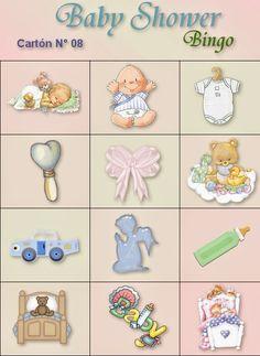 Loteria Para Baby Shower, Bingo Baby Shower, Fotos Baby Shower, Moldes Para Baby Shower, Baby Shower Themes, Juegos Baby, Baby Shawer, Ideas Para Fiestas, Welcome Baby