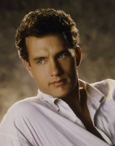 These days its easy to forget Tom Hanks used to be cute . . .