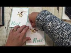 How to make a gorgeous White Christmas Pines Card-with lots of laughs! - YouTube