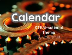 """If you would like to add your STEM theme to your calendar, I have created this set for you. All special days and holidays for the entire year are included. I have also included large days of the week for """"Today Is...,"""" """"Yesterday Was...,"""" and """"Tomorrow Will Be..."""" posters."""