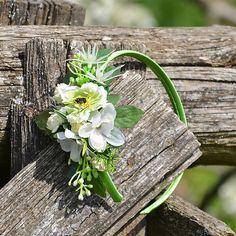 Čelenka do vlasov / Hydrangea - SAShE. Wreaths, Plants, Flowers, Door Wreaths, Deco Mesh Wreaths, Plant, Floral Arrangements, Garlands, Floral Wreath
