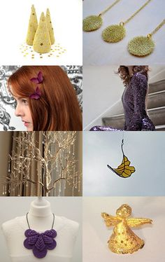Golden Night by Maria Ferreira on Etsy--Pinned with TreasuryPin.com #PTteamEtsy #ChristmasColorsProject #EtsyEurope #Portugal