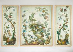 Pillement triptych, Chelsea House