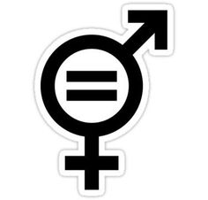 Gender Equality (Feminism) Print  Stickers