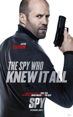 New trailer and five posters for the comedy SPY starring Melissa McCarthy, Rose Byrne, Jude Law and Jason Statham. Melissa Mccarthy, Jason Statham Movies, Expendables Movie, Jason Stratham, Crime Film, Movie Previews, Guy Ritchie, Sylvester Stallone, Action Movies