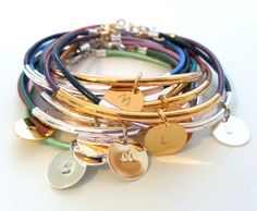 Hey, I found this really awesome Etsy listing at https://www.etsy.com/listing/191338477/personalized-initial-bracelet-gold-or