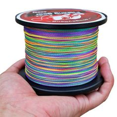 Buy Fishing Lines Braided Fishing Line Strong 4 Strands Linha De Pesca Multicolor Fishing Tackle Tools at Mama - Thoughtful Shopping Fishing Line, Sport Fishing, Best Fishing, Fishing Tackle, Fly Fishing, Kayak Fish Finder, Fishing In Canada, Saltwater Fishing Gear, Braided Line