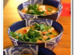 Thai shrimp soup with lemongrass - shrimp Asian Recipes, Healthy Recipes, Ethnic Recipes, Shrimp Soup, Thai Shrimp, Soup Recipes, Cooking Recipes, Shrimp Recipes, Exotic Food