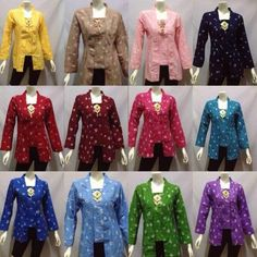 Batik Jumputan   Instagram/LINE: doursolo Batik Kebaya, Kebaya Dress, Batik Dress, Model Kebaya, Jo In Sung, Woman Outfits, Wedding Guest Book, Traditional Outfits, Ikat