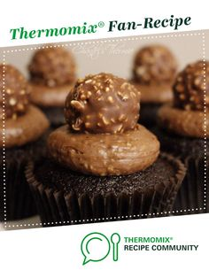 Chocolate Hazelnut Cupcakes by Chantel's Thermie. A Thermomix <sup>®</sup> recipe in the category Baking - sweet on www.recipecommunity.com.au, the Thermomix <sup>®</sup> Community.