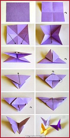 origami butterflies how to make a paper butterfly easy origami . origami butterflies how to make a paper butterfly easy origami . Origami Design, Instruções Origami, Star Wars Origami, Origami Wall Art, Origami Fish, Paper Crafts Origami, Origami Stars, How To Origami, Paper Folding Crafts