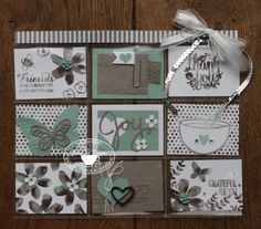 Yvonne is Stampin' & Scrapping: Stampin' Up! Pocket Letter #stampinup