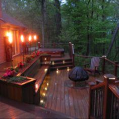 The backyard oasis
