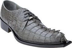 Belvedere - Zeno (Men's) - Grey Hornback from Yvonne's #shoes