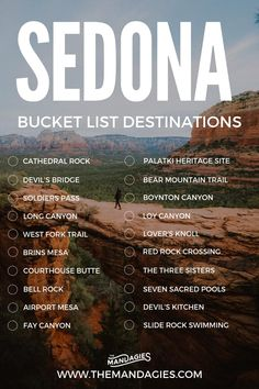 Sedona is one of the most beautiful destinations in the American Southwest! We're here sharing the best places to see and things to do in Sedona. Save this pin for your next vacation to Arizona! Arizona Travel, Sedona Arizona, Hiking In Arizona, Prescott Arizona, Arizona Road Trip, Phoenix Arizona, Travel List, Travel Guides, Budget Travel