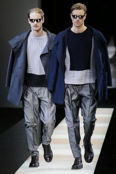 Giorgio Armani Menswear Fall Winter 2015 Milan