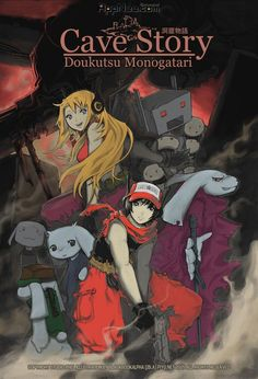 "Cave Story (洞窟物語, Dōkutsu Monogatari), is known as the best 2D side-scrolling freeware game in the history, independently developed by a Japanese programmer ""Pixel"" (Daisuke Amaya) who spent his more than 5 years of spare time. Afterwards, it was translated into many languages and ported to multiple platforms, resulted in a boom all over the world."