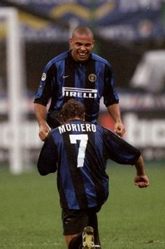 Ronaldo and Moriero (FC Inter 1998/99)