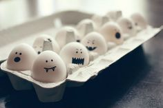 halloween eggs - Provided by Delish