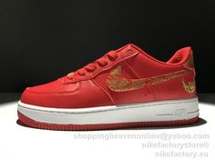 NIKE AIR AORCEL Low Premium Lunar New Year iD 919729-992 Red 72d0a16c5