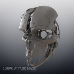 Corvo mask pepakura